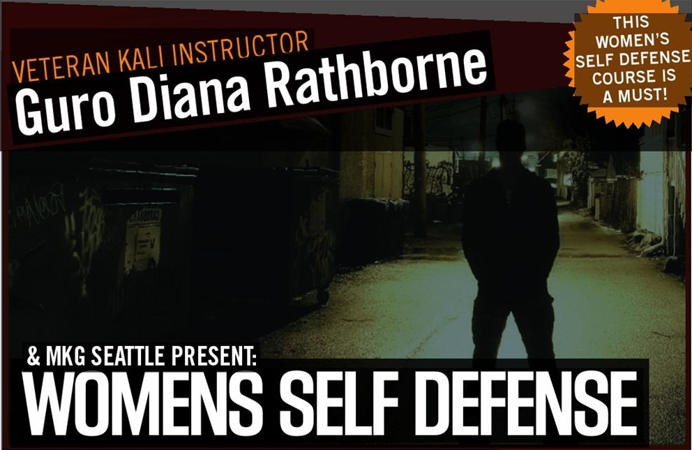 Womens Self Defense Seattle, WA at MKG Martial Arts