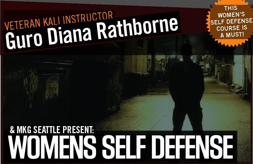 Womens Self Defense Seattle, WA at MKG Martial Arts