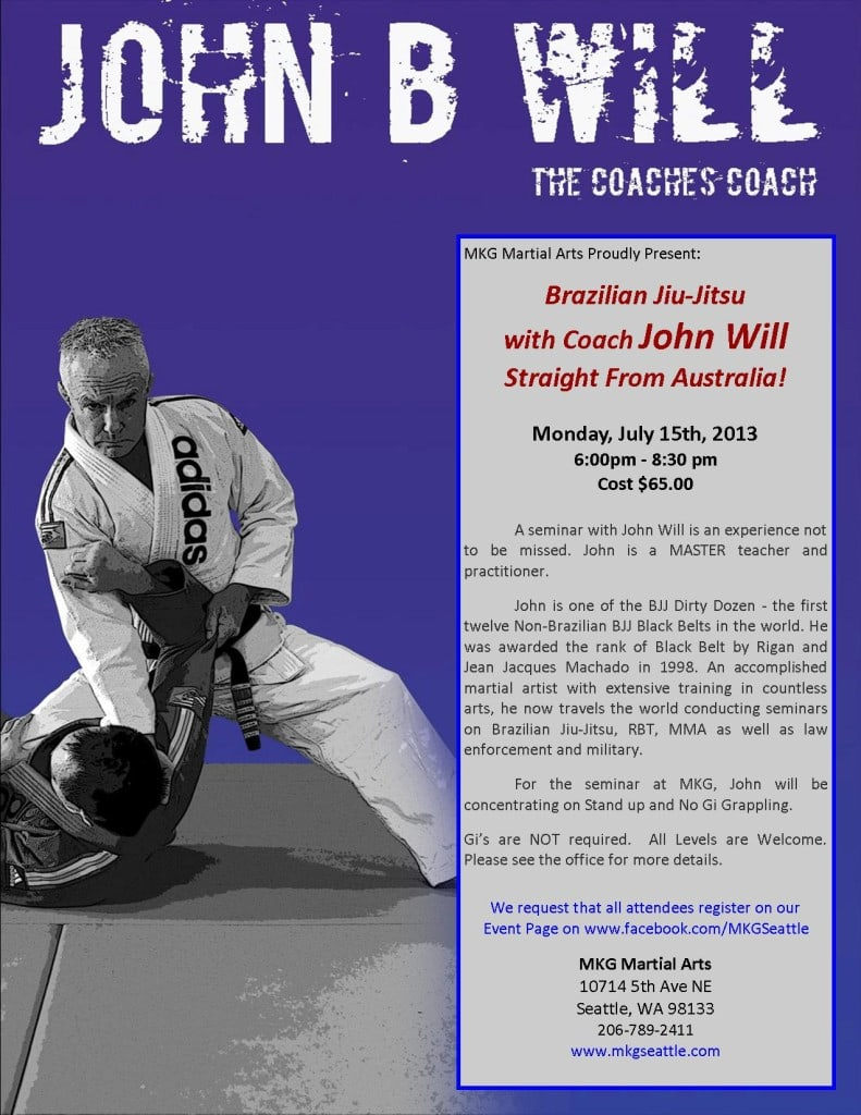 Brazilian Jiu Jitsu Seattle