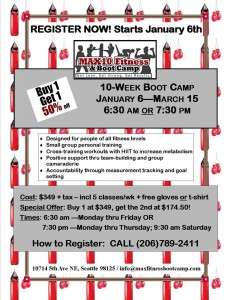 Fitness Boot Camp in Seattle