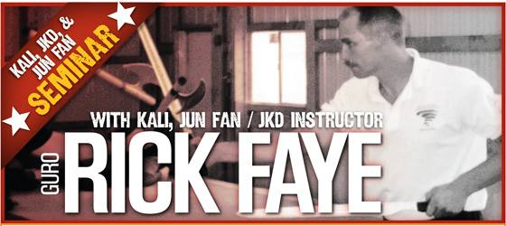 Rick Faye JKD in Seattle, WA