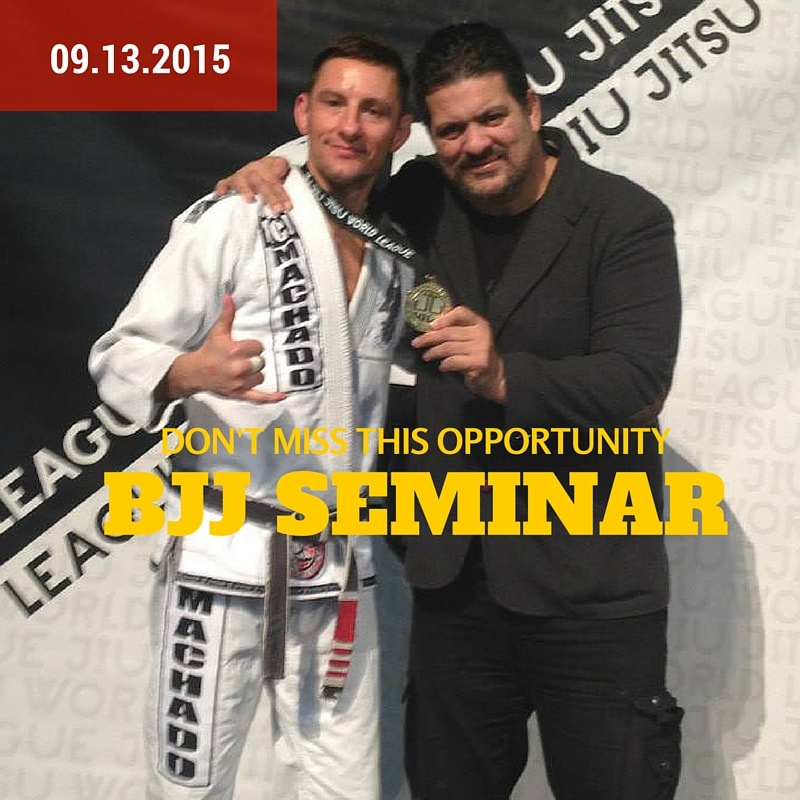 BJJ Seminar in Northgate