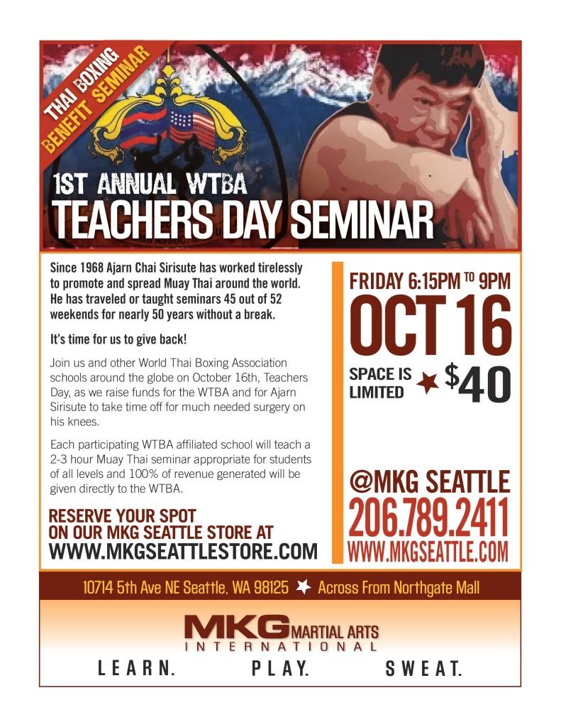 MKG Master Chai Benefit Flyer