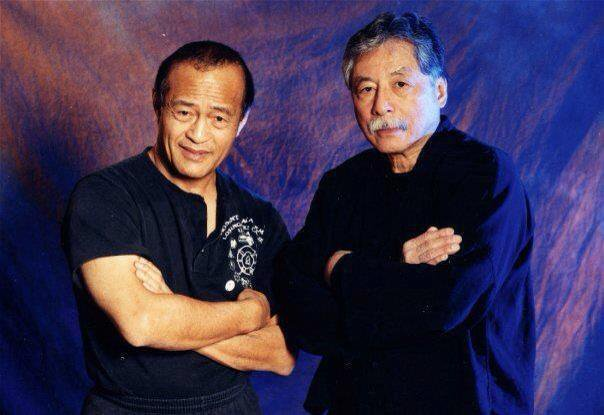 Dan Inosanto and Taky Kimura