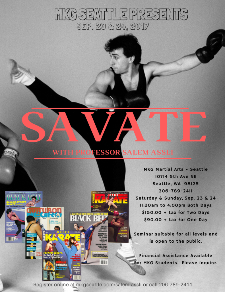 French Kickboxing in Seattle Savate MKG 2017