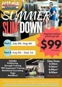 MAX10 Fitness Boot Camp