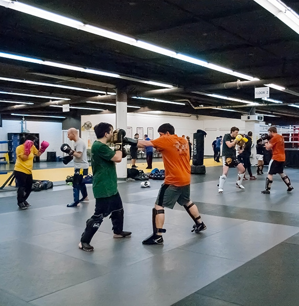 Seattle Muay Thai kickboxing classes not just a gym