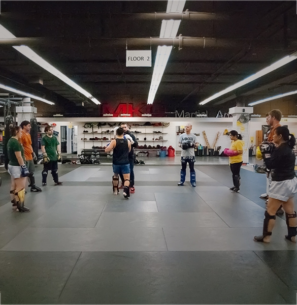 Seattle Muay Thai kickboxing classes more than a Muay Thai gym