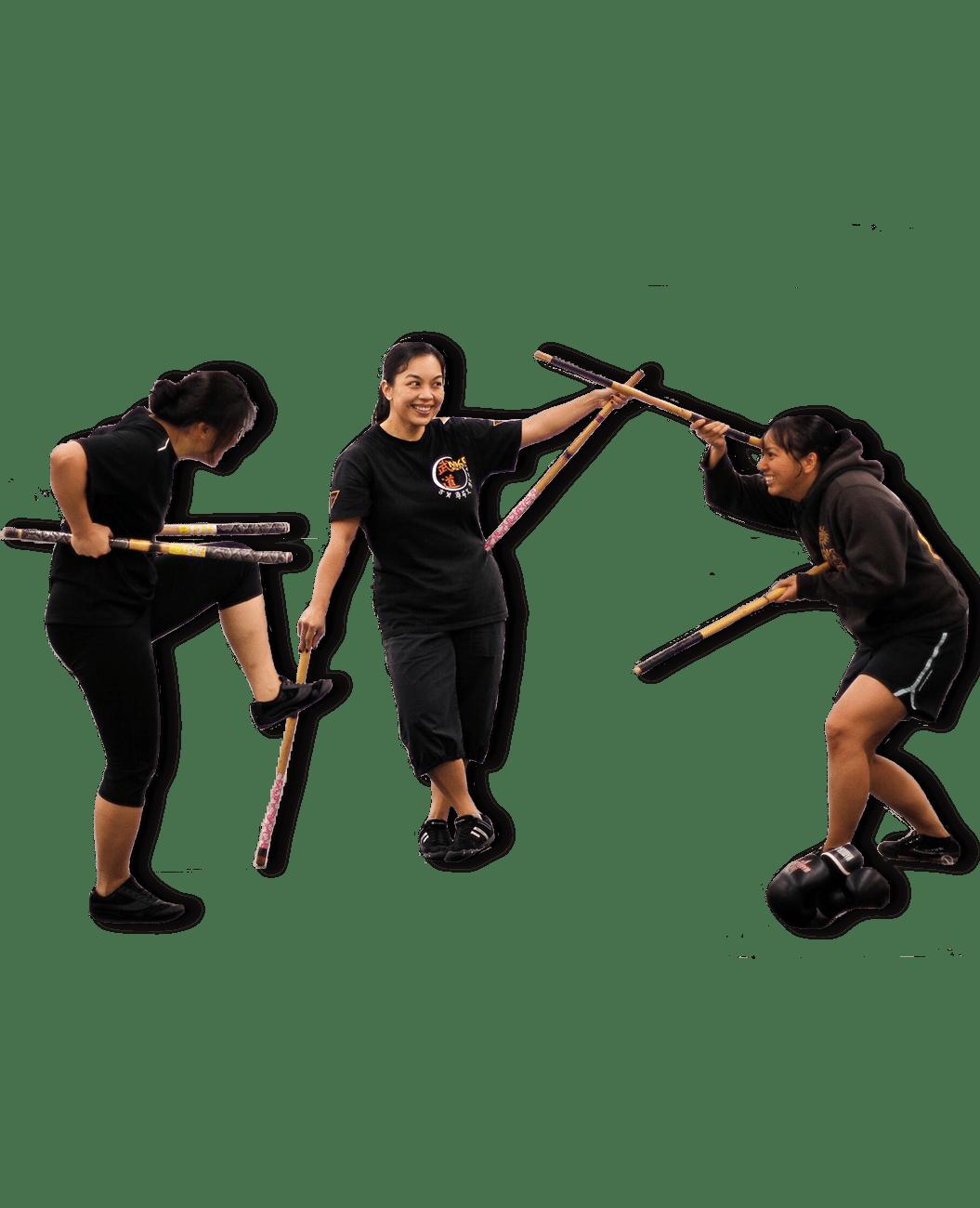 Three_woman_practicing_Kali_mkg